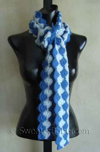 Free Crochet Pattern Scallop Scarf : free crochet patterns for beginners shawl