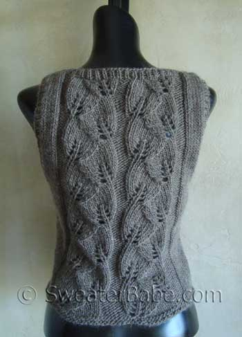 Knitting Pattern For Waistcoat Free : EASY KNIT WAISTCOAT PATTERNS Free Knitting and Crochet Patterns